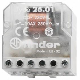 Télérupteur électromécanique 10A Série 26.01 FINDER
