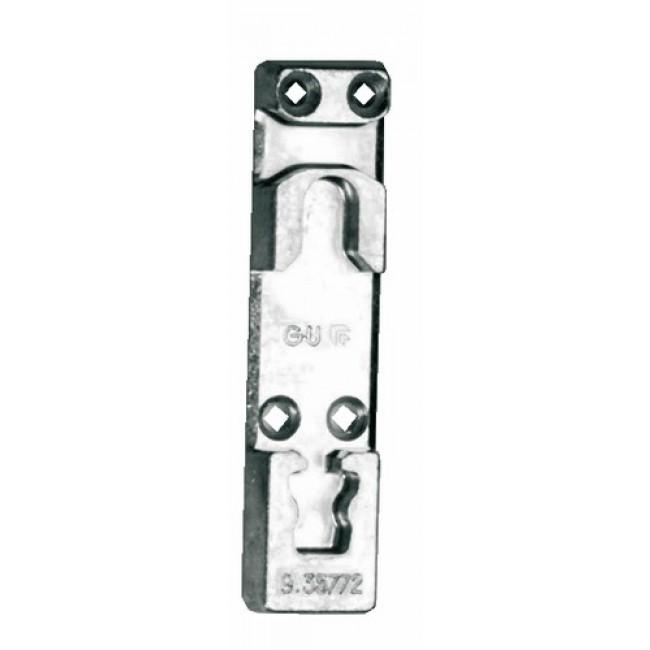 Gâche inférieure pour oscillo-battant PVC - 9-35772-00-0-1 FERCO