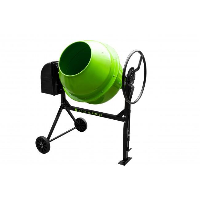 Bétonnière - puissance 800 W - Cuve 180 litres - BTM180 ZIPPER