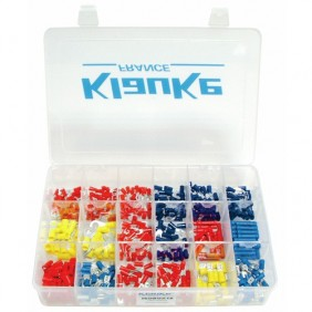 Coffret d'assortiment - Cosses à sertir isolées - Isobox 18 KLAUKE