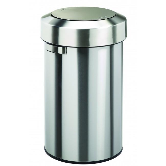 Poubelle - inox - 60 litres - SALSA ROSSIGNOL