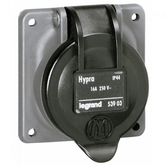 Socle de tableau - Hypra - IP44 - pour prise à brochage domestique LEGRAND
