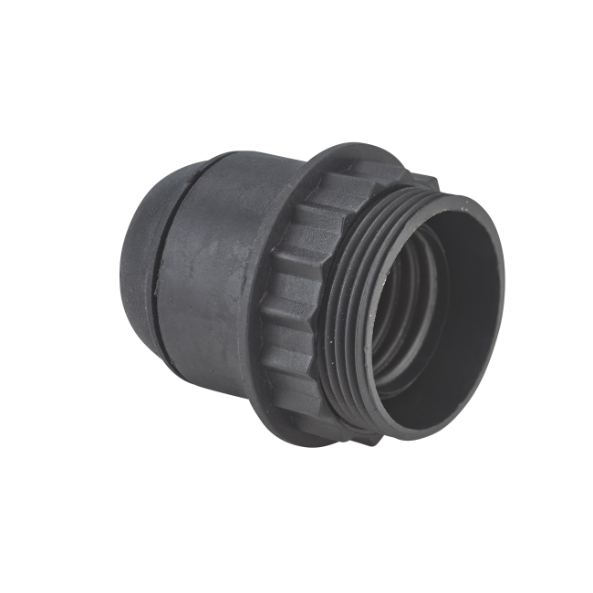 Douille à vis avec bague - 1/2 filetée - E27 DEBFLEX