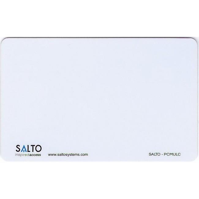 Carte badge client - pour contrôle d'accès XS4 Mifare SALTO