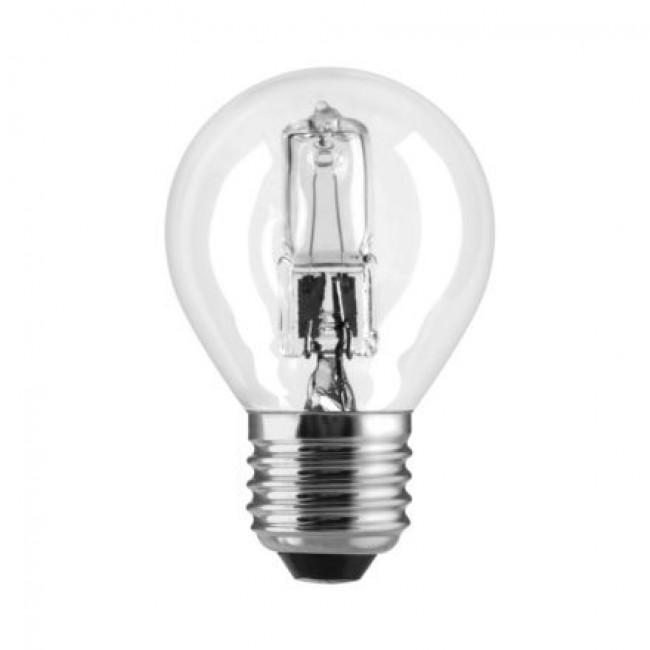 Lampe halogène sphérique TU - culot E27 GE LIGHTING