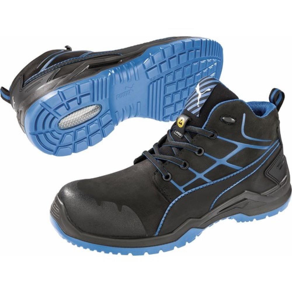 Sans Mid Blue Krypton De Métal Sécurité Wzpwtc Puma S3 Chaussures 0vWgqw