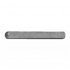 Tige carrée non percée - pour poignées de porte FERCO