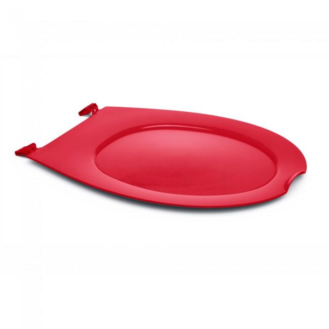 Abattant wc clipsable - 100 % hygiénique - framboise PAPADO