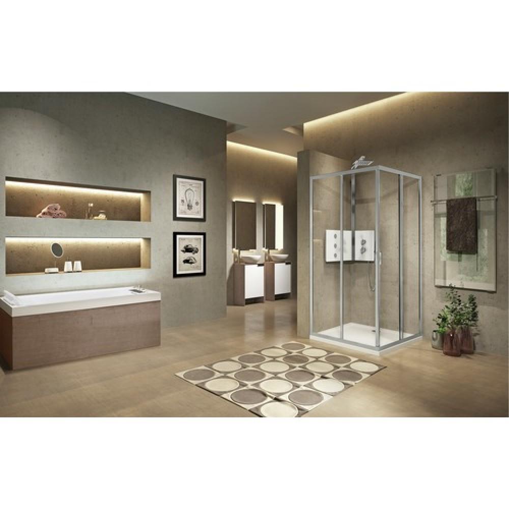 c t pour acc s d 39 angle porte coulissante lunes 2 0. Black Bedroom Furniture Sets. Home Design Ideas
