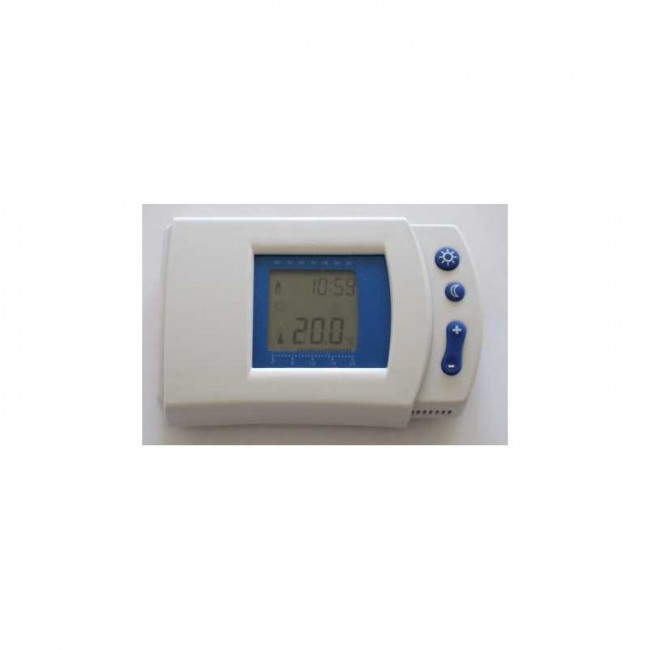Thermostat électronique digital programmable hebdomadaire - VOM509008 VOLTMAN