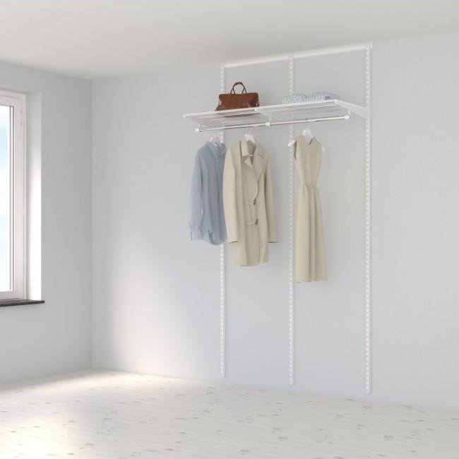Kit dressing Basique - L120xP40 cm - blanc ELFA