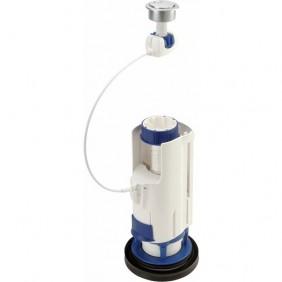 Mécanisme chasse d'eau - double touche - 3V101 compact NICOLL