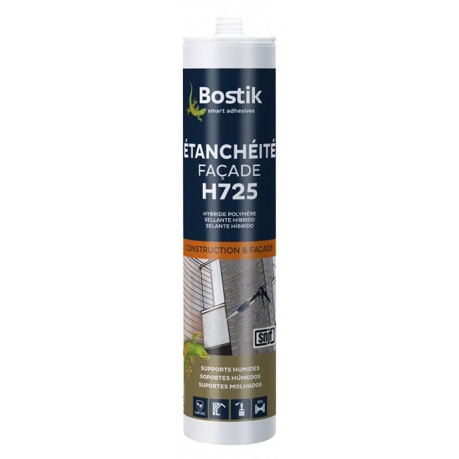 Mastic hybride - étanchéité façade - H725 BOSTIK