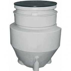Cuve de relevage des eaux usées à enterrer - 350 Litres - Mini Pust GRUNDFOS