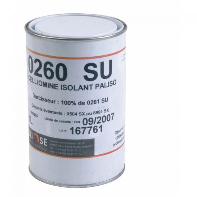 Isolant avant vernis polyuréthane bi-composants - 1 litre - Paliso 0260 SU CELLIOSE