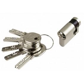 Demi cylindre - 30 x 10 mm - ISR6 - varié- laiton nickelé ISEO