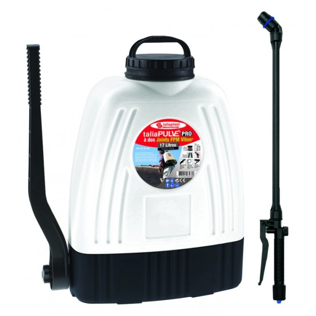 Pulvérisateur à dos TaliaPULVÉ® – 17 litres – Joints FPM Viton® TALIAPLAST