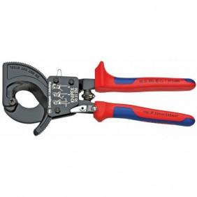 Coupe-câbles à cliquet KNIPEX