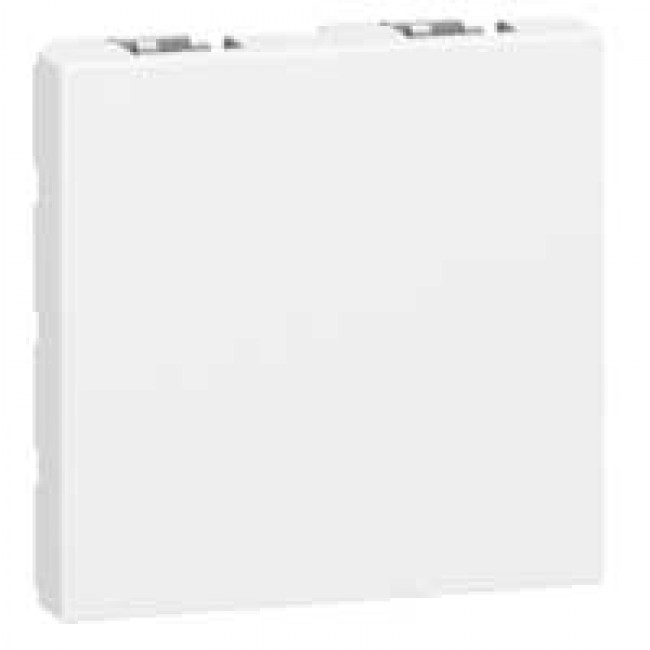 Obturateur Mosaic - 2 modules - blanc LEGRAND