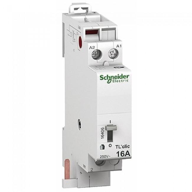 Télérupteur unipolaire 16 A - Duoline TL'clic SCHNEIDER