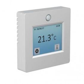 Thermostat tactile et programmable - blanc - sonde de sol - TFT2 SUD RAYONNEMENT