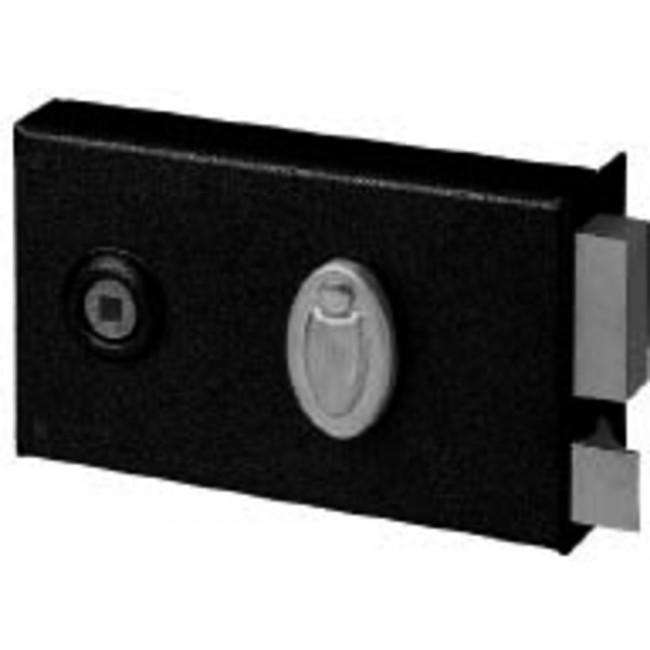 Serrure en applique - horizontale - 4 gorges à fouillot à clé ABUS