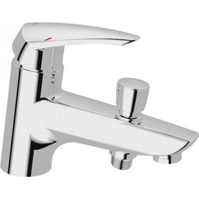 Mitigeur baignoire monotrou chrom eurodisc 33192001 grohe bricozor - Grohe mitigeur baignoire ...