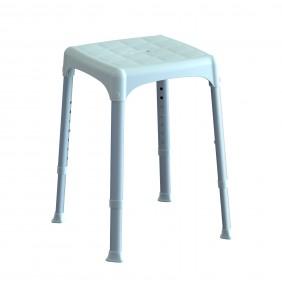 Tabouret - avec assise carrée - réglable en hauteur KDesign
