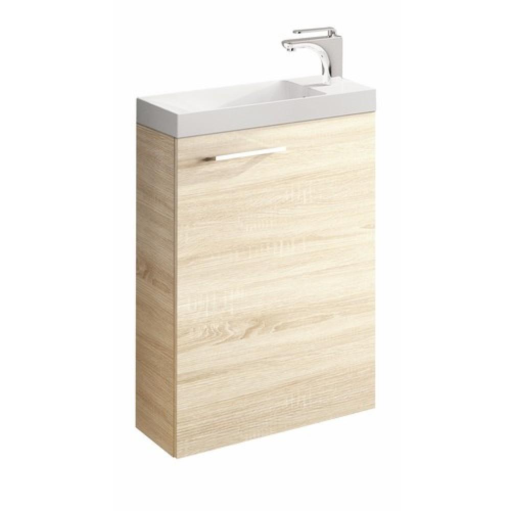 meuble lave mains suspendu 3 coloris palerme 400x600 mm nova