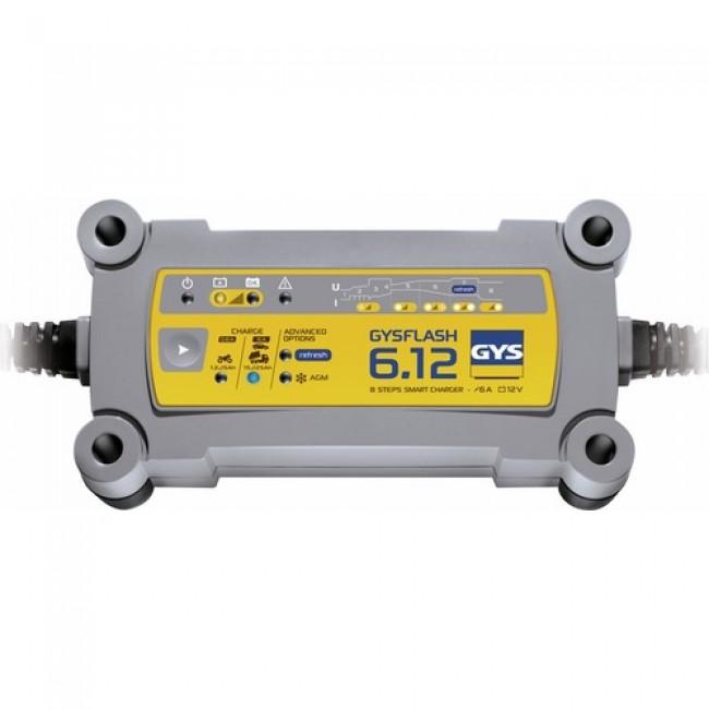 Chargeur de batterie - recharge et maintenance - 12 V - Gysflash 6.12 GYS