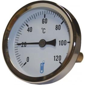 Thermomètre bimétallique à cadran Ideal A45 Ø 63 température 0 > 120°c DISTRILABO