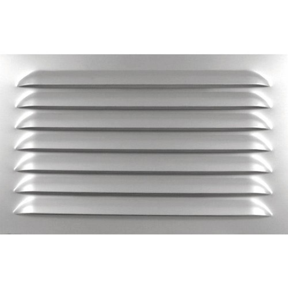 Grille de ventilation persiennes en aluminium sans - Grille de ventilation exterieure aluminium ...