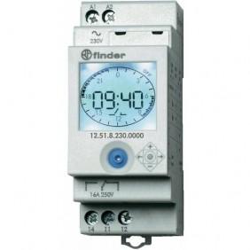 Interrupteur horaire programmable connectée Série 12.51 FINDER