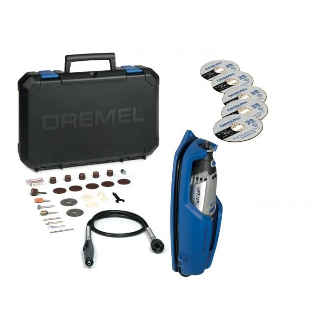 Dremel 3000 multi-fonction 130W 25 accessoires+5 disques à tronçonner DREMEL