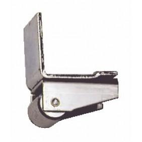 Arrêt avec roulette d'appui - pour portail suspendu ROB
