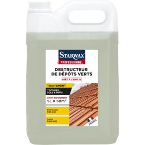 Destructeur de dépôts verts - sans javel - sans rinçage SINTO