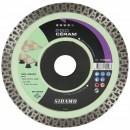 Disque diamant - jante continue - 125 mm - Pro Céram SIDAMO