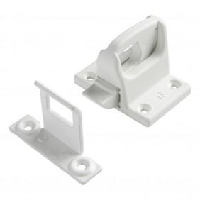 Loqueteau de châssis - menuiserie PVC à recouvrement - G-18412-01 BRICOZOR