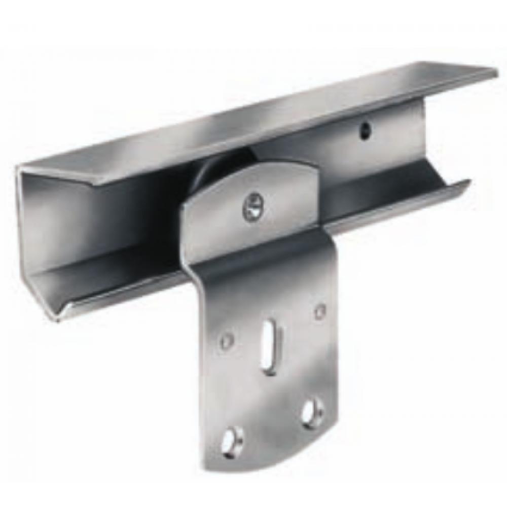 ferrure de porte coulissante pour fixation plat rob bricozor. Black Bedroom Furniture Sets. Home Design Ideas