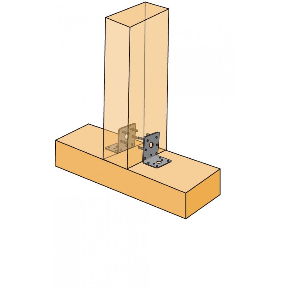 querre renforc e pour charpente eb 7048 simpson strong tie bricozor. Black Bedroom Furniture Sets. Home Design Ideas