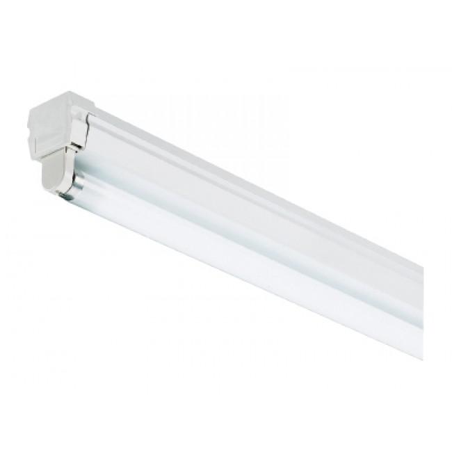 Réglette pour un tube fluorescent T8 26 mm - ballast électronique SYLVANIA