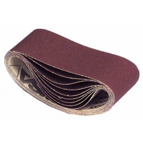 Abrasifs bandes courtes 100x610 mm toile rigide corindon KK 504 X VSM