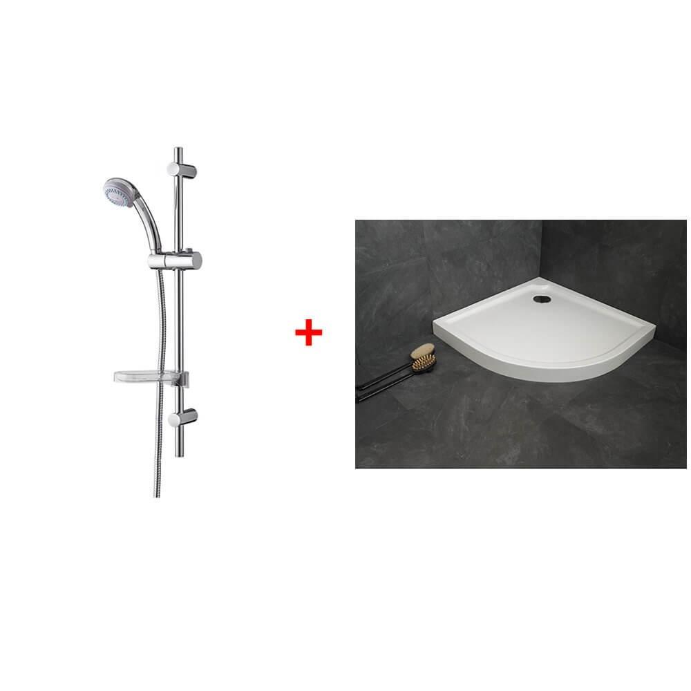 barre de douche free zoom sur les barres de douche with. Black Bedroom Furniture Sets. Home Design Ideas