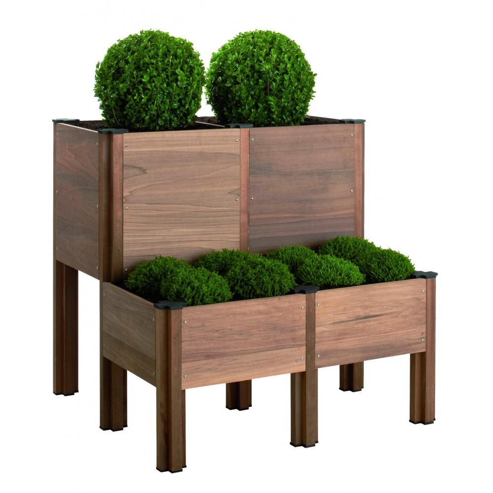 carr potager b b i o sur pieds bricozor. Black Bedroom Furniture Sets. Home Design Ideas