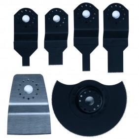 Lot de 6 accessoires pour outils multifonction BT-MG 180/1 EINHELL