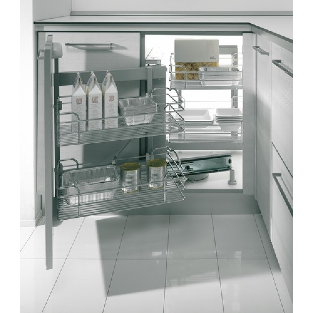Ferrures dynamic corner inoxa bricozor for Amenagement cuisine angle