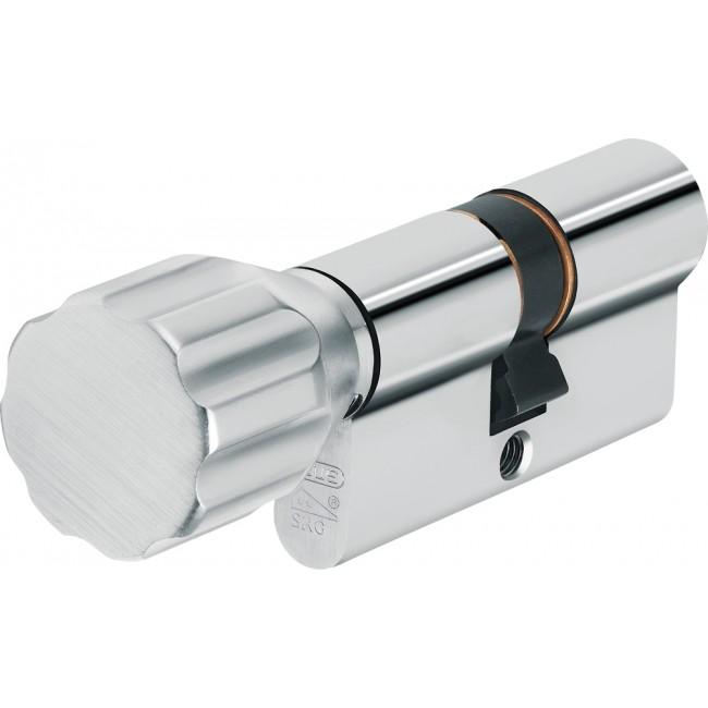 Cylindre à bouton varié à profil européen - 12 goupilles - KXP20S ABUS