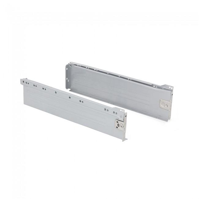 Kit tiroir Ultrabox-hauteur 118 mm-gris métallisé EMUCA