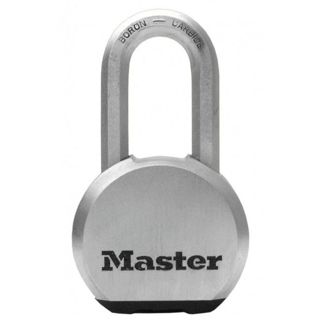 Cadenas à clé en acier massif - largeur 64 mm - anse haute de 51 mm MASTER LOCK
