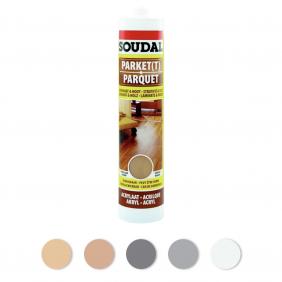 Mastic de rebouchage en acrylique pour parquet SOUDAL